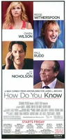 How Do You Know movie poster (2010) picture MOV_ad97bb26