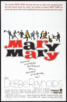 Mary, Mary movie poster (1963) poster MOV_adb3bdae