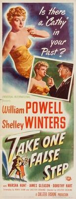 Take One False Step movie poster (1949) poster MOV_adba2105