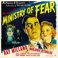 Ministry of Fear movie poster (1944) picture MOV_adbcb52a