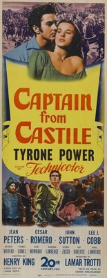 Captain from Castile movie poster (1947) poster MOV_adc20535