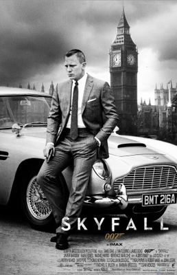 Skyfall movie poster (2012) poster MOV_add068d2