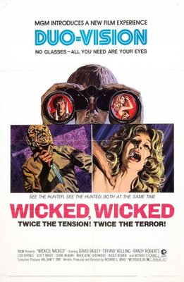 Wicked, Wicked movie poster (1973) poster MOV_add8f602