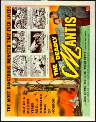 The Deadly Mantis movie poster (1957) poster MOV_ae059f0c