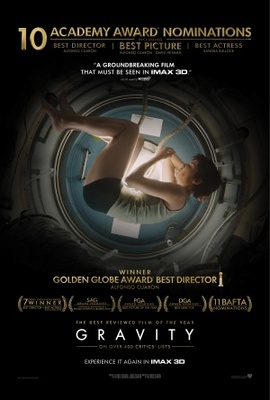Gravity movie poster (2013) poster MOV_ae13a97f