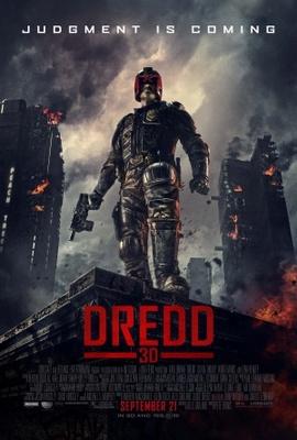 Dredd movie poster (2012) poster MOV_ae2b1ff7