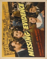 Missing Evidence movie poster (1939) picture MOV_ae3b7a2e
