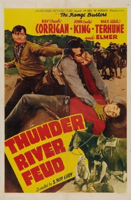 Thunder River Feud movie poster (1942) poster MOV_ae82eb6e