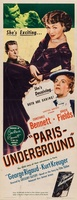 Paris Underground movie poster (1945) picture MOV_ae877ef7