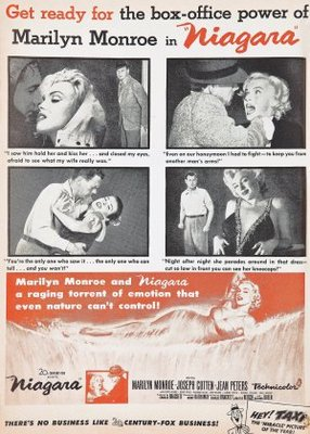 Niagara movie poster (1953) poster MOV_ae897850