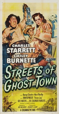 Streets of Ghost Town movie poster (1950) poster MOV_ae8ecbfe