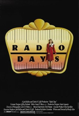 Radio Days movie poster (1987) poster MOV_aea1c891