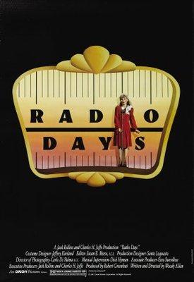 Radio Days movie poster (1987) poster MOV_aea1c891