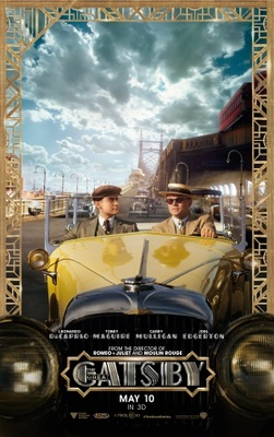 The Great Gatsby movie poster (2012) poster MOV_aea4d4ef