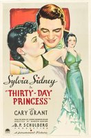 Thirty Day Princess movie poster (1934) picture MOV_aeaa8c92