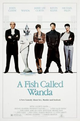 A Fish Called Wanda movie poster (1988) poster MOV_aead3d16