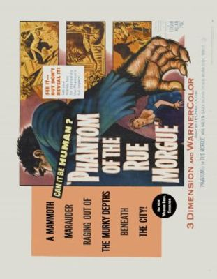 Phantom of the Rue Morgue movie poster (1954) poster MOV_aeb777a0