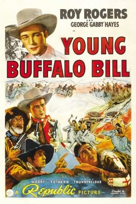 Young Buffalo Bill movie poster (1940) poster MOV_aec0213b