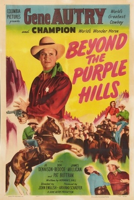 Beyond the Purple Hills movie poster (1950) poster MOV_aecb4905
