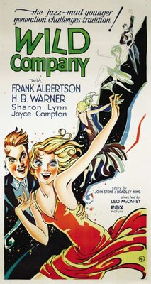 Wild Company movie poster (1930) poster MOV_aecd168e