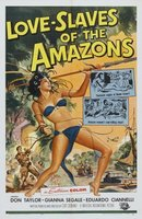 Love Slaves of the Amazons movie poster (1957) picture MOV_aecd9725