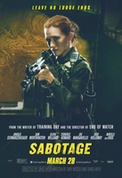 Sabotage movie poster (2014) picture MOV_aed52977