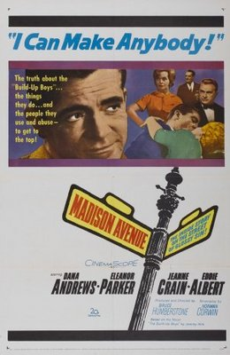 Madison Avenue movie poster (1962) poster MOV_aee94b13
