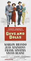 Guys and Dolls movie poster (1955) picture MOV_af38a9c9