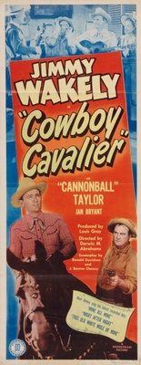 Cowboy Cavalier movie poster (1948) poster MOV_af38f5fa