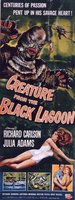 Creature from the Black Lagoon movie poster (1954) picture MOV_af43990b