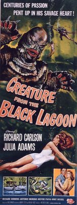 Creature from the Black Lagoon movie poster (1954) poster MOV_af43990b
