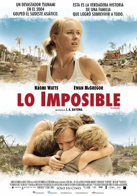 The Impossible movie poster (2012) poster MOV_af45ea59