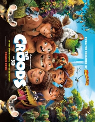 The Croods movie poster (2013) poster MOV_af655b1f