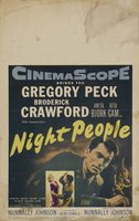 Night People movie poster (1954) picture MOV_af6b292b