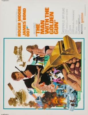 The Man With The Golden Gun movie poster (1974) poster MOV_af8f40c6