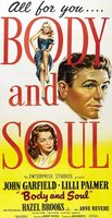 Body and Soul movie poster (1947) picture MOV_af927f44