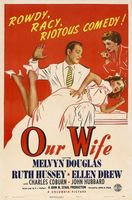 Our Wife movie poster (1941) picture MOV_af973b9f