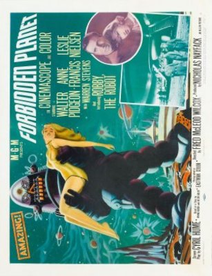 Forbidden Planet movie poster (1956) poster MOV_afcabf3c