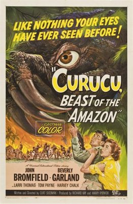 Curucu, Beast of the Amazon movie poster (1956) poster MOV_afed7a87