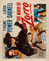 The Mark of Zorro movie poster (1940) picture MOV_afef2969