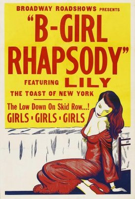 B-Girl Rhapsody movie poster (1952) poster MOV_b019f903