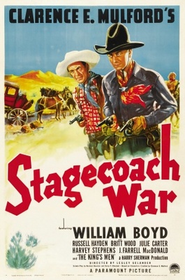 Stagecoach War movie poster (1940) poster MOV_b01af207