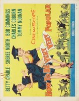 How to Be Very, Very Popular movie poster (1955) picture MOV_b0276542