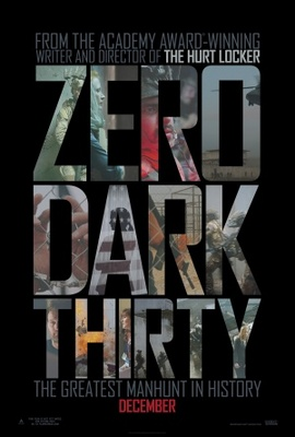 Zero Dark Thirty movie poster (2012) poster MOV_b050d034