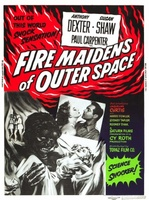 Fire Maidens from Outer Space movie poster (1956) picture MOV_b0533b12