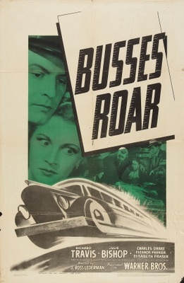 Busses Roar movie poster (1942) poster MOV_b058561b
