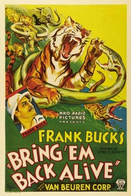 Bring 'Em Back Alive movie poster (1932) poster MOV_b06d99a3