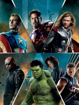 The Avengers movie poster (2012) poster MOV_b07926d1
