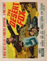 The Desert Fox: The Story of Rommel movie poster (1951) picture MOV_b07984ea