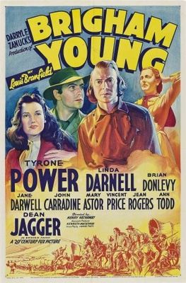Brigham Young movie poster (1940) poster MOV_b0869a7f
